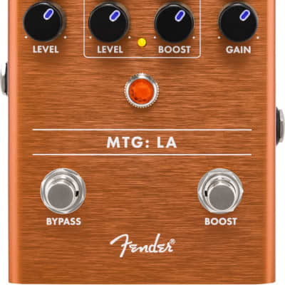 Fender MTG LA Tube Distortion Pedal for sale