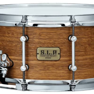 """Tama S.L.P. Bold Spotted Gum 14""""x6.5"""" Snare Drum"""
