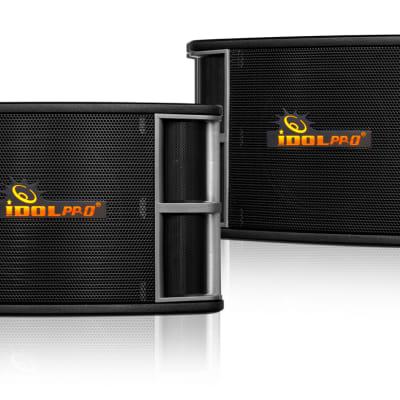 "IDOLpro IPS-650 800W 10""Woofer 3 Way Professional Karaoke Speakers NEW 2019"