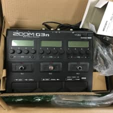 Zoom G3n Multi-effects Black