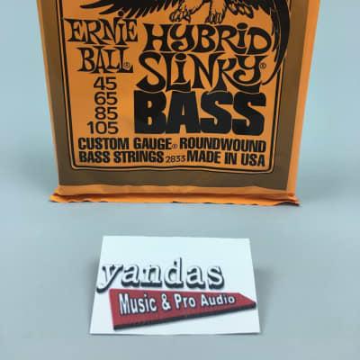 Ernie Ball Slinky Series Bass Guitar Strings - Hybrid Slinky