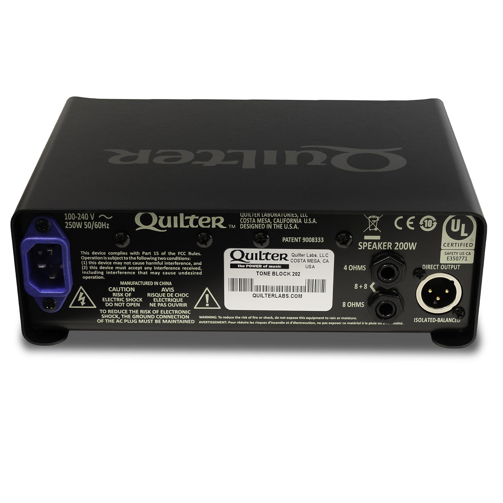 Quilter Tone Block 202 200W Guitar Amplifier Head
