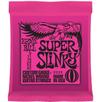 Ernie Ball 2223 Super Slinky 9-42 Electric Guitar Strings