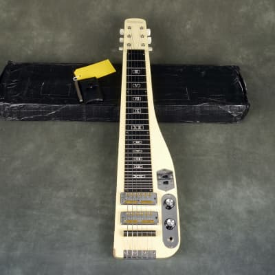 Guyatone 1960s Lap Steel, Made in Japan, Goldfoil Pickups w/Box - 2nd Hand for sale