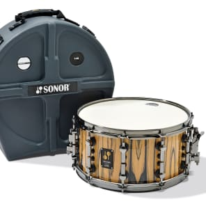 """Sonor One Of A Kind Series White Ebony Veneer 14x7"""" Maple Snare Drum 2014"""