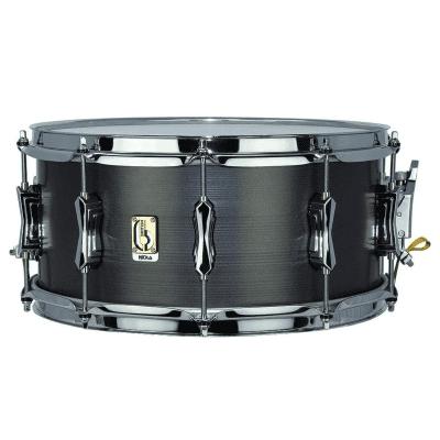 "British Drum Company Talisman Nicko McBrain Signature 14x6.5"" 10-Lug British Steel Snare Drum"