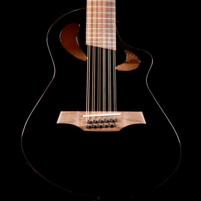 Avante by Veillette Gryphon Short Scale Acoustic Black for sale