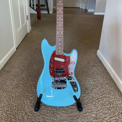 Fender Kurt Cobain Mustang Sonic Blue Excellent Near Mint!