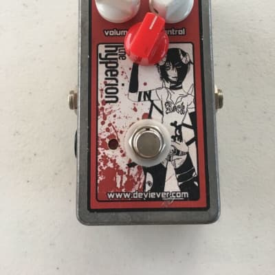 Devi Ever The Hyperion Fuzz Distortion Overdrive Rare Guitar Effect Pedal
