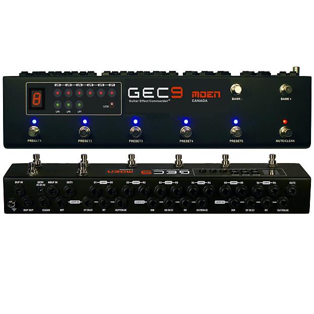 moen canada gec9 v2 pedal switcher guitar effect routing reverb. Black Bedroom Furniture Sets. Home Design Ideas