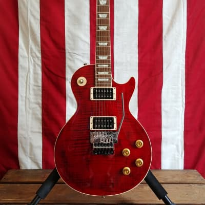*REO Speedwagon* Dave Amato's Personal Touring - Stage Played - Prototype Custom Shop Gibson Les Paul Axcess - Red - Hand Signed for sale