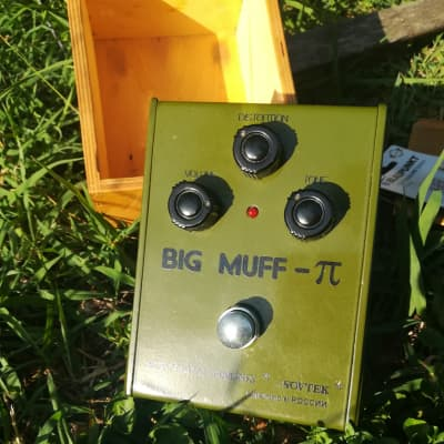 Sovtek Big Muff 90's Green Russia