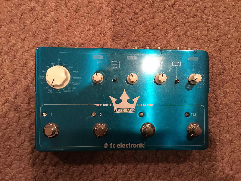 tc electronic triple flashback delay tech gear reverb. Black Bedroom Furniture Sets. Home Design Ideas