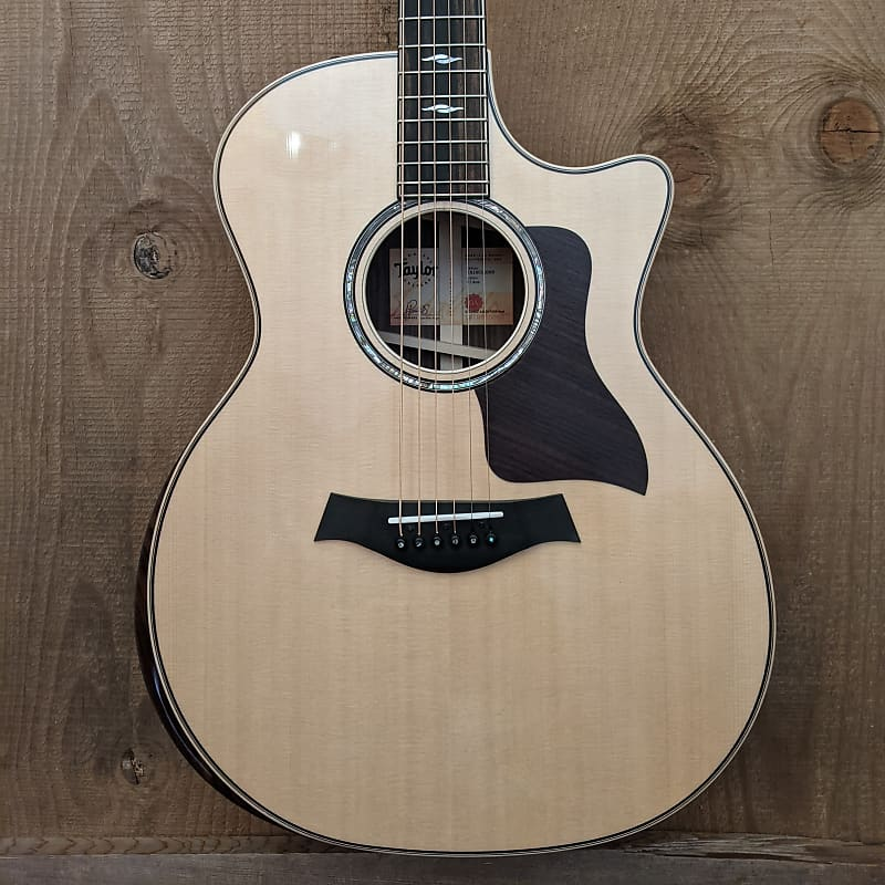 Taylor 814ce Grand Auditorium Acoustic Electric Guitar Natural