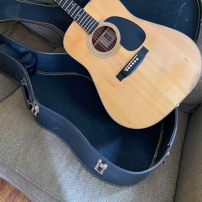 Yamaki YW-15 Japan 70s Natural MIJ Lawsuit Acoustic for sale