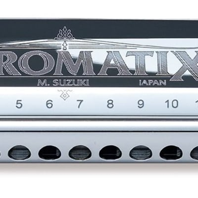 Suzuki Chromatix Series 12 Hold Harmonica Key G