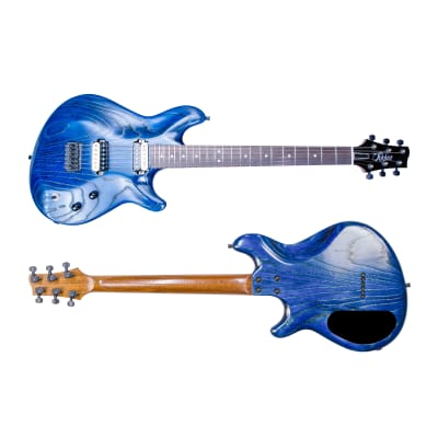Ruben Guitars The Apex Predator  2020 Royal Blue Ceruse for sale