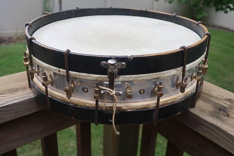 unknown antique banjo tension snare drum 1910s reverb. Black Bedroom Furniture Sets. Home Design Ideas