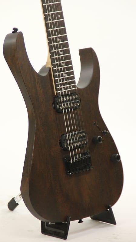 ibanez rg7421 wnf walnut flat 7 string electric guitar reverb. Black Bedroom Furniture Sets. Home Design Ideas