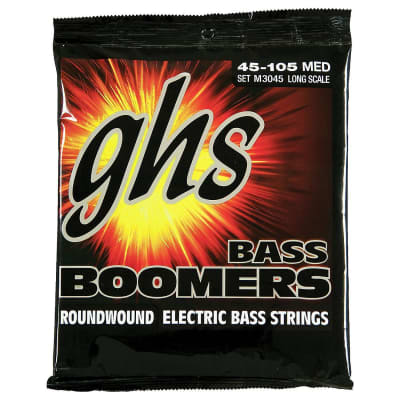 GHS Bass Boomers Medium Bass Strings (45-105)