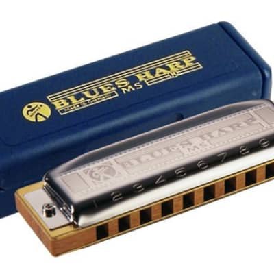 Hohner MS Series Blues Harp Harmonica in the Key of Ab for sale
