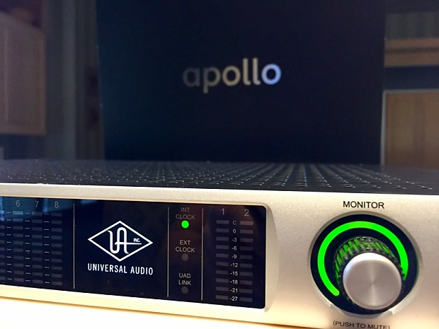 universal audio apollo firewire interface with quad reverb. Black Bedroom Furniture Sets. Home Design Ideas