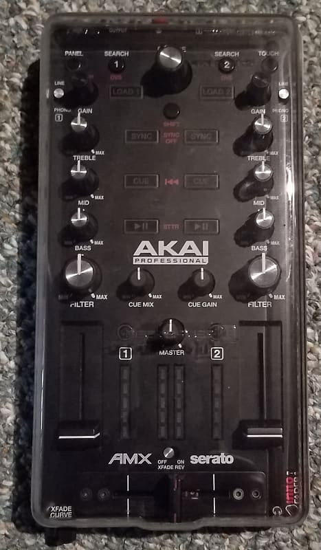 Akai AMX Mixing Surface Sound Card for Serato DJ DVS w/Decksaver + Free  Shipping!