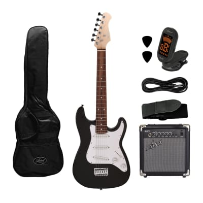 Artist MiniS 3/4 Size Electric Guitar + Accessories +10 Watt Amp for sale