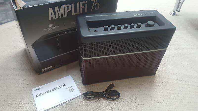 line 6 amplifi 75 modeling guitar combo amplifier bluetooth reverb. Black Bedroom Furniture Sets. Home Design Ideas