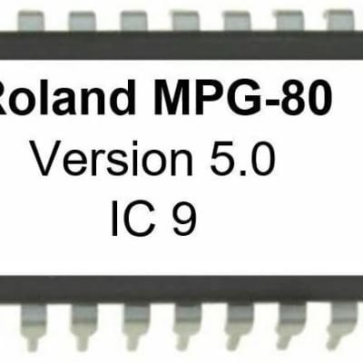 Roland MPG-80 - Version 5.0 Firmware Upgrade OS Update for MPG80 Controller for MKS-80