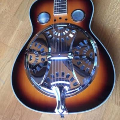 Cort Resonator Guitar CR-10RN 2000's Sunburst for sale