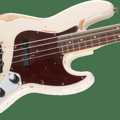 New! Fender Flea Signature Roadworn Jazz Bass Shell Pink Authorized Dealer Warranty Gig Bag! for sale