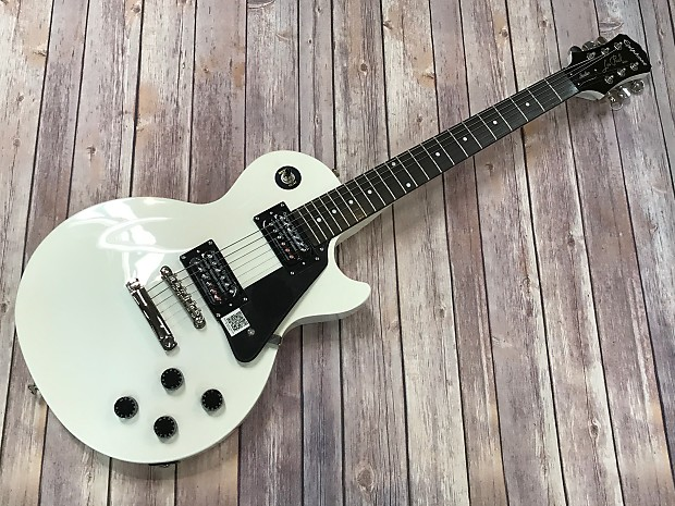 epiphone les paul studio custom shop 2013 alpine white reverb