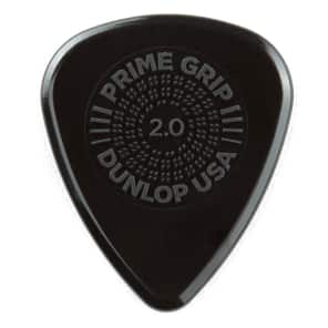 Dunlop 450R20 Prime Grip Delrin 500 2mm Guitar Picks (72-Pack)