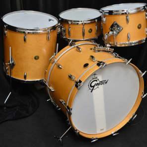 "Gretsch 22/13/16"" USA Custom Drum Set - Curly Maple"
