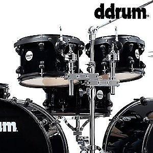 ddrum journeyman double down 7pc double bass drum kit w reverb. Black Bedroom Furniture Sets. Home Design Ideas