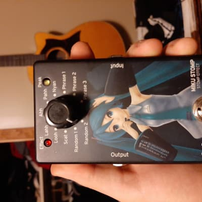 Korg Miku Stomp Effects Pedal RARE for sale