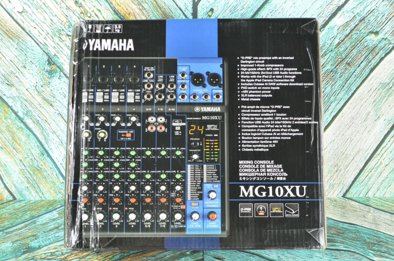 Yamaha mg10xu 10 channel analog mixer randee 39 s music for Yamaha mg10xu review