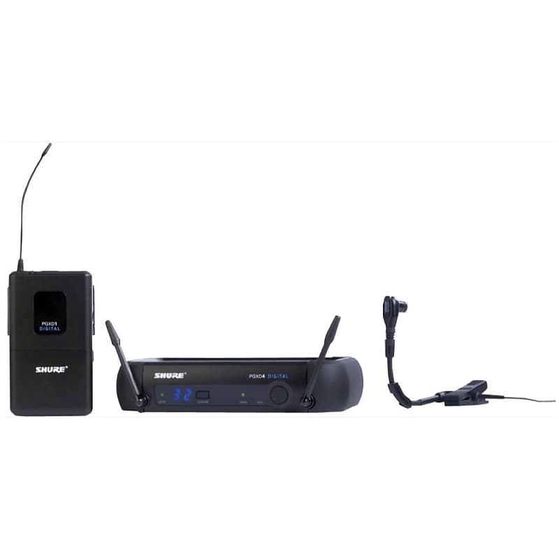 Shure PGX Digital Instrument Wireless Microphone System With