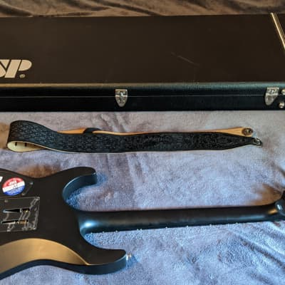 ESP LTD M Black Metal signed by Broken Hope guitarist Jeremy Wagner for sale