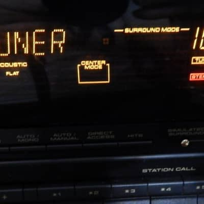 Pioneer VSX-D701S Receiver with phono input