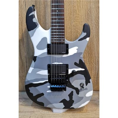 ESP E-II M-II Neck Thru, Urban Camo, Second-Hand for sale