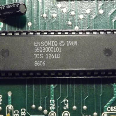 Ensoniq ESQ-1 parts - 5503000101 digital oscillator IC