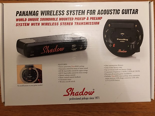 shadow panamag wireless system for acoustic guitar reverb. Black Bedroom Furniture Sets. Home Design Ideas