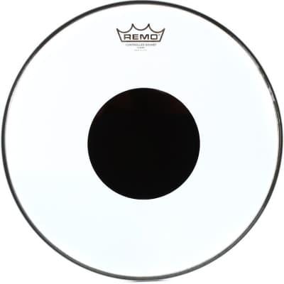 "Remo 10"" Clear Controlled Sound Drum Head CS-0310-10"