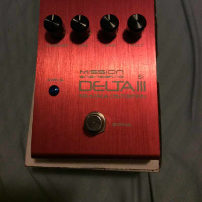 Mission Engineering Delta III Tri-Stage Distortion Si 2015 Red