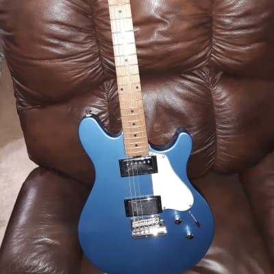 Sterling by Musicman JV60T james valentine signature in toluca blue w gig bag