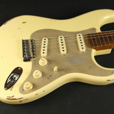 Fender Custom Shop LTD NAMM '56 Stratocaster Roasted Relic Neck - Aged Vintage White (478) for sale