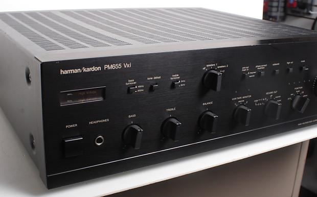 harman kardon pm655 vxi vintage stereo integrated. Black Bedroom Furniture Sets. Home Design Ideas