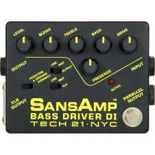Tech 21 Sansamp Bass Driver DI Pedal